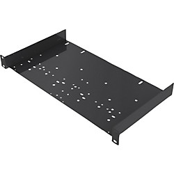 Gator 16 Gauge shelf with universal hole pattern, 25 lb. capacity (GE-SHLF-UNIV-1U)