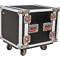Gator G-Tour 10U Cast Rack Road Case with Casters (G-Tour 10U Cast)