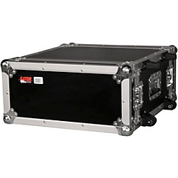 Gator G-Tour 4-Space ATA Wheeled Rack Flight Case (G-Tour 4UW)