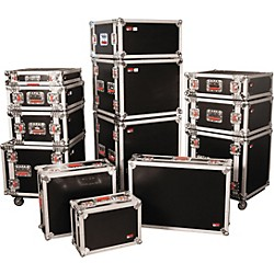 Gator G-Tour Rack Road Case with Casters (G-Tour 14U Cast)