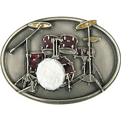 Gear One Drum Set Belt Buckle (W85E)
