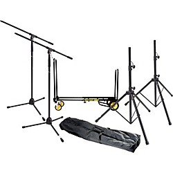 Gear One Gigging Pro Live Sound Accessories Pack (MG GP LS Kit)