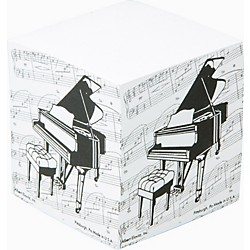 Gear One Grand Piano Memo Cube (4721)