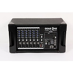Gear One PA1300 6 Ch Powered Mixer 300 wt (USED006039 PA1300)