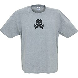 Gear One Pirate Skull T-Shirt (FU13-GRAY XL)