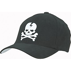 Gear One Skull Flex Cap (FU37-BLACK S-M)