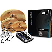 Zildjian Gen16 Buffed Bronze 368DS Acoustic-Electric Cymbal Pack