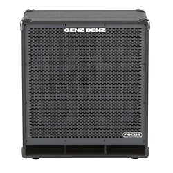 Genz Benz Focus Series FCS-410T 4x10 Bass Speaker Cabinet (FCS-410T)