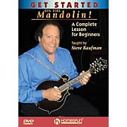 Homespun Get Started on the Mandolin! (A Complete Lesson for Beginners) Homespun Tapes Series DVD by Steve Kaufman