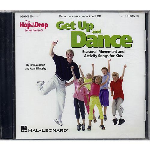 Hal Leonard Get Up and Dance Performance/Accompaniment Cd-thumbnail