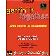Jamey Aebersold Gettin' It Together Volume 21 Book and CD