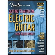 Fender Getting Started On Electric Guitar DVD