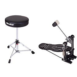 Gibraltar Bass Drum Pedal & Drum Throne Package (GBDTP-MA_134403)