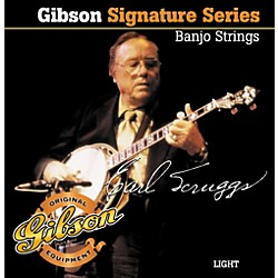 Gibson Earl Scruggs Signature Light Banjo Strings (SBG-ESL)