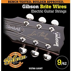 Gibson G700UL Ultra Light Brite Wires Electric Guitar Strings (SEG-700UL)