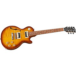 Gibson Les Paul Special AAA Flame Top with F-Hole Electric Guitar (USED004000 LPSPGCMCH1)