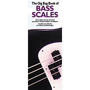 Music Sales Gig Bag Book of Bass Scales