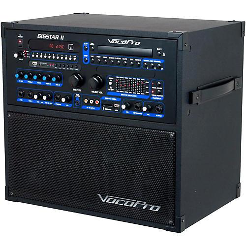 VocoPro Gigstar II Portable 100W 4-Channel PA/Karaoke System-thumbnail