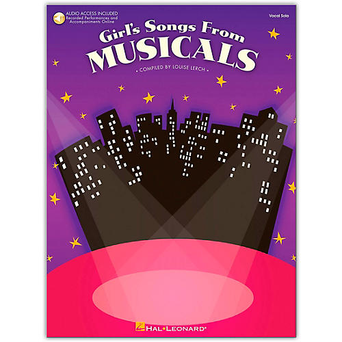 Hal Leonard Girl's Songs From Musicals Book/CD
