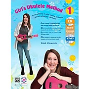 Alfred Girl's Ukulele Method 1 Book, CD & DVD