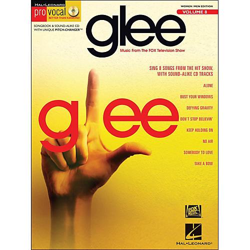 Hal Leonard Glee - Pro Vocal Songbook & CD for Women/Men Volume 8-thumbnail