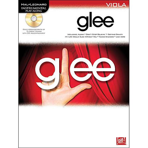 Hal Leonard Glee For Viola - Instrumental Play-Along Book/CD
