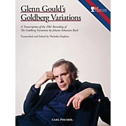 Carl Fischer Glenn Gould's Goldberg Variations - Piano