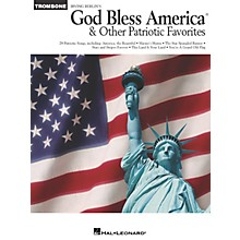 Hal Leonard God Bless America® and Other Patriotic Favorites (Trombone) Instrumental Folio Series