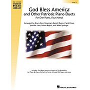 Hal Leonard God Bless America and Other Patriotic Piano Duets - Level 3 Educational Piano Library Series Softcover