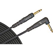 "D'Addario Planet Waves Gold-Plated 1/4"" Angled - Straight Instrument Cable"