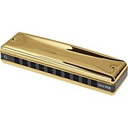 Suzuki Gold Promaster Valved Harmonica