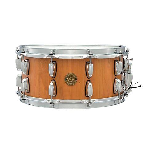 Gretsch Drums Gold Series Cherry Stave Snare Drum-thumbnail
