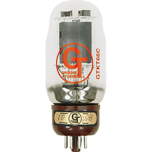 Groove Tubes Gold Series GT-KT66-C Matched Power Tubes-thumbnail