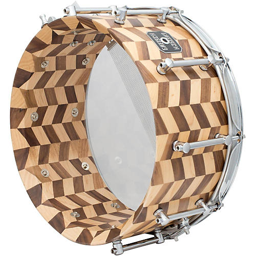Gretsch Drums Gold Series Zig Zag Snare Drum-thumbnail