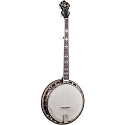 Gold Star GF-200 Flamed Maple Sunburst 5-String Banjo (GF-200)