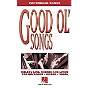 Hal Leonard Good Ol' Songs Piano, Vocal, Guitar Songbook