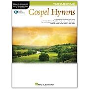 Hal Leonard Gospel Hymns For Trombone Instrumental Play-Along Book/Audio Online