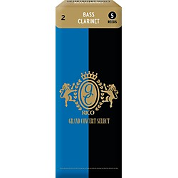 Grand Concert Select Bass Clarinet Reeds (Rgb05Scl200)