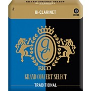 Rico Grand Concert Select Traditional Bb Clarinet Reeds