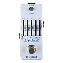 Mooer Graphic B Bass Equalizer Effects Pedal