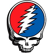 Hal Leonard Grateful Dead (Skull Logo) - Chunky Magnet