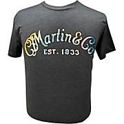 Martin Gray Tie-Dye Logo T-Shirt