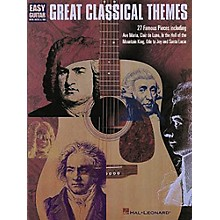 Hal Leonard Great Classical Themes for Easy Guitar Tab Book