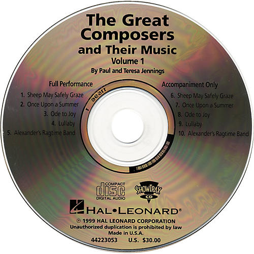 Hal Leonard Great Composers and Their Music CD-thumbnail