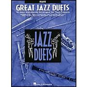 Hal Leonard Great Jazz Duets for Flute