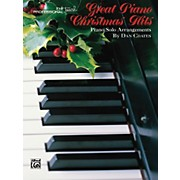 Alfred Great Piano Christmas Hits Advanced Piano Book
