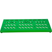 Gator Green Aluminum Pedal Board; XL w/ Carry Bag