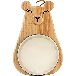 Green Tones Bear Drum (3718)