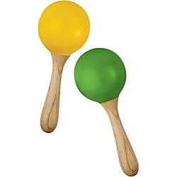 Green Tones Egg Shaped Maracas (3765)