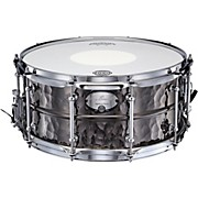 Dixon Gregg Bissonette Hammered Brass Signature Snare Drum